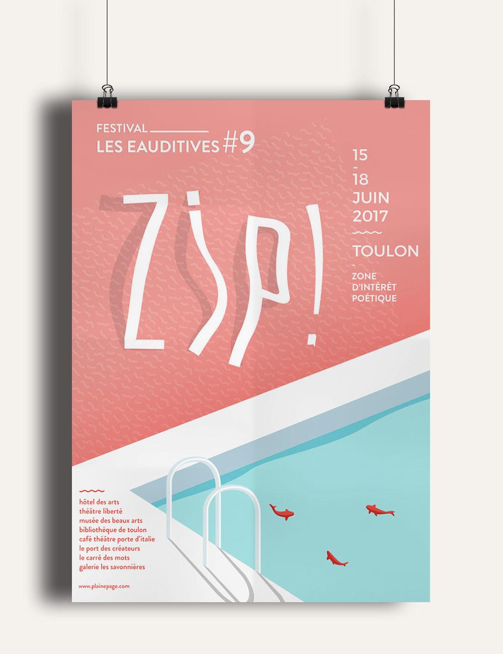 Creation affiche festival Toulon