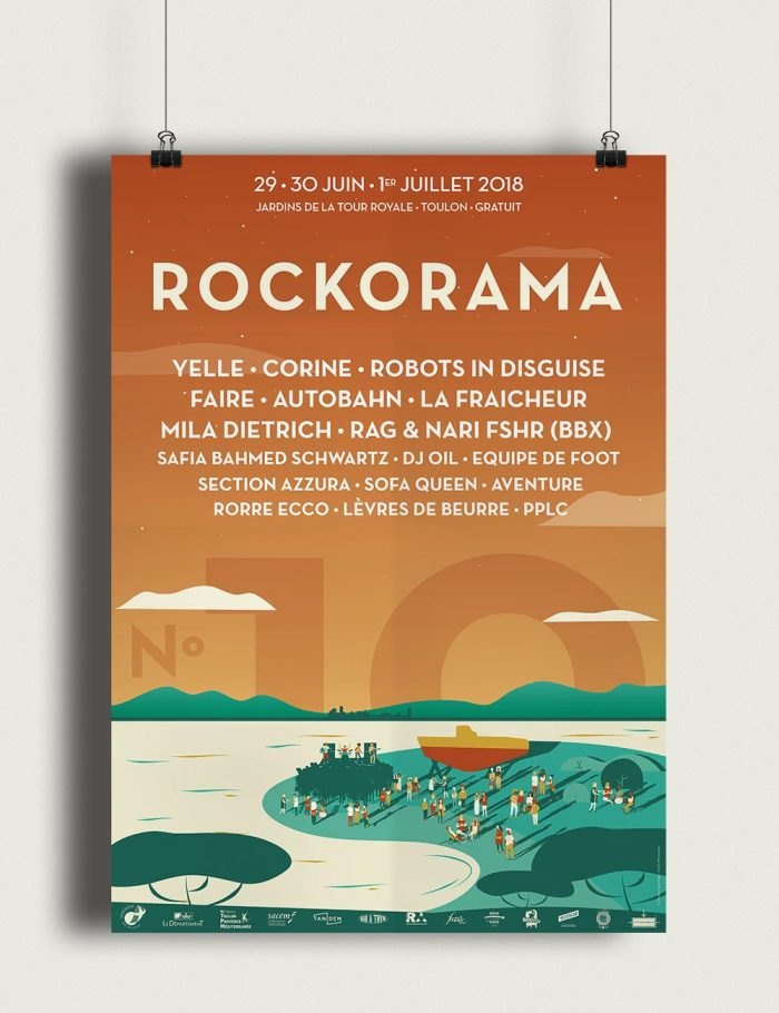Affiche Rockorama 2018