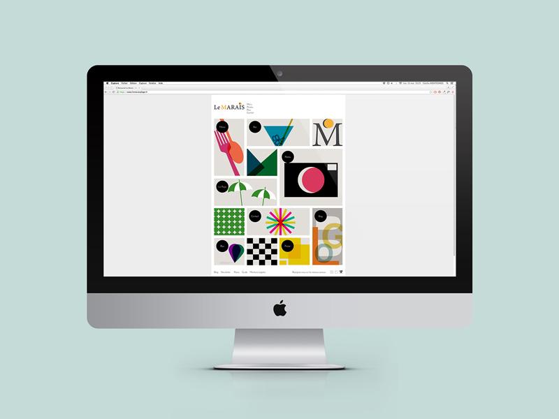 Webdesign Le Marais Plage Hyeres