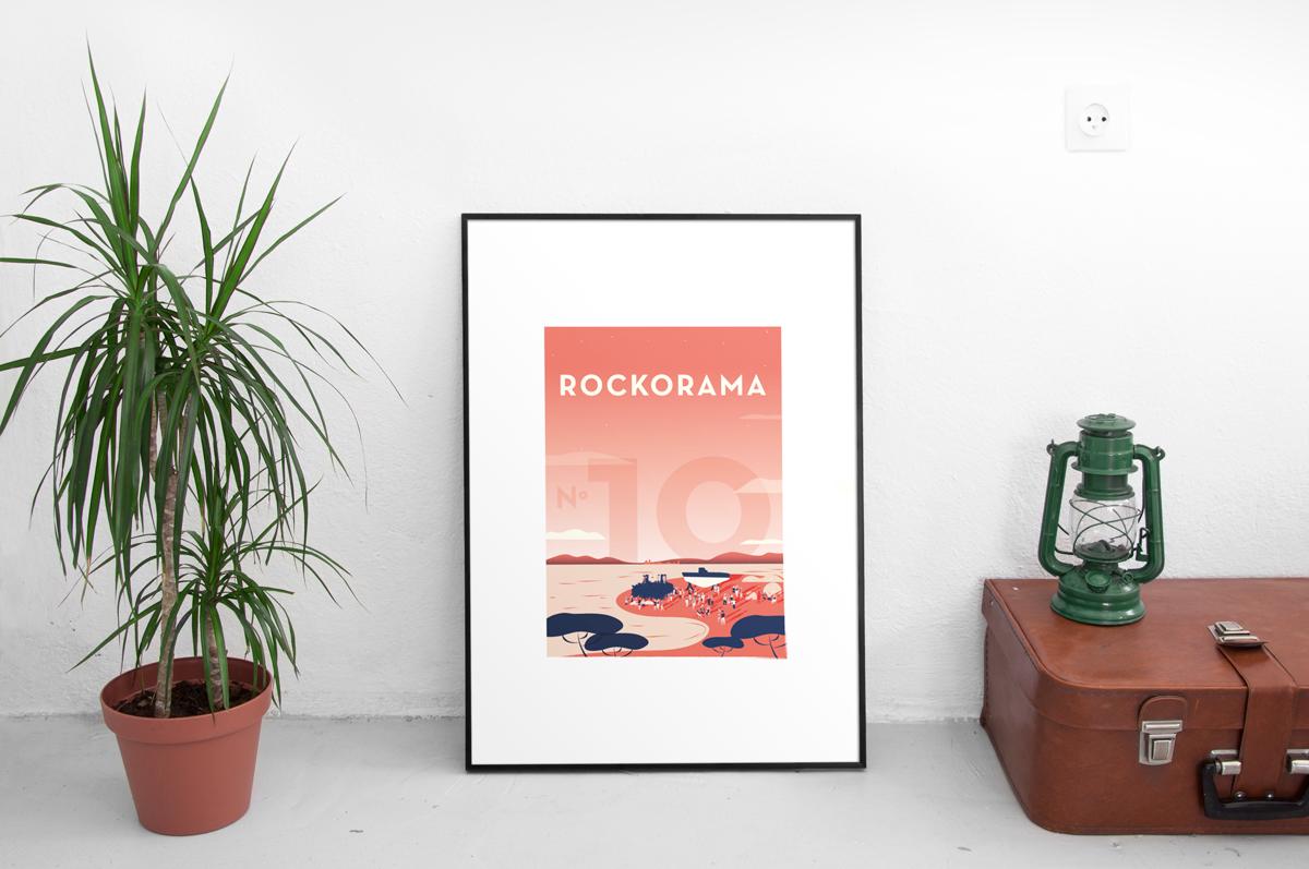 Affiche édition limitée Rockorama 2018