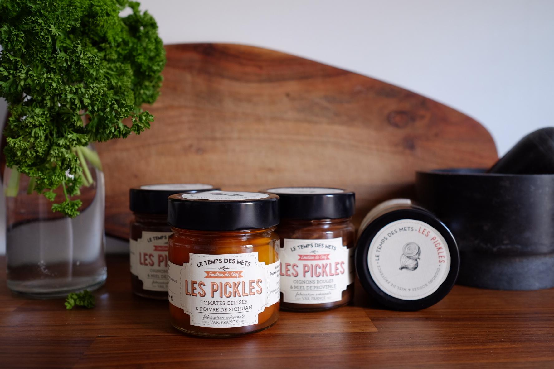 packaging pickles Le temps des mets